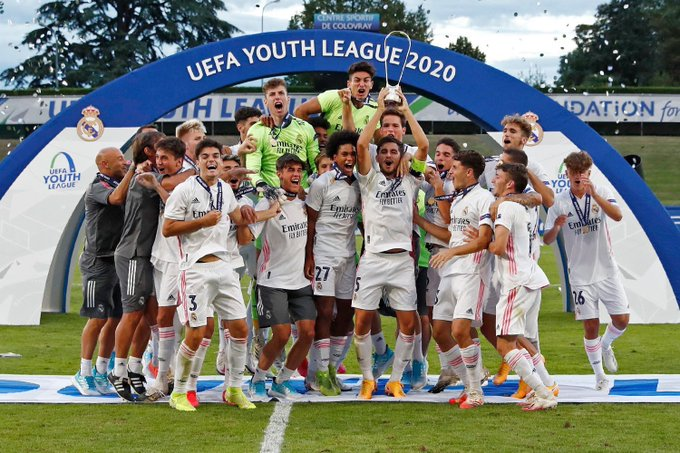 real madrid youth league